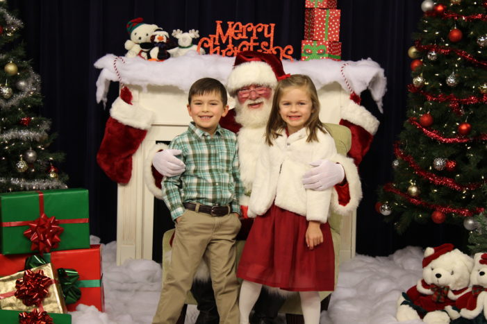 ONTV hosts Santa Live in the studio