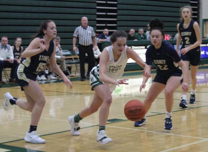 Lady Dragon Basketball falls to Rochester Adams 34-30