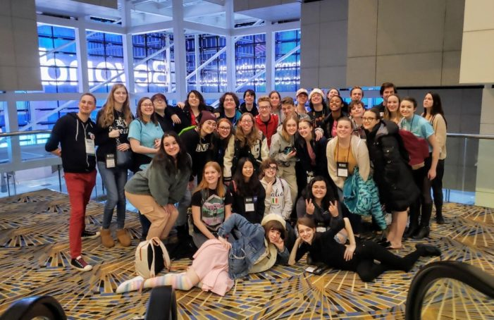 LOHS Thespian Troupe wins Technical Theater Olympics and several other awards at Thespian Festival in Detroit