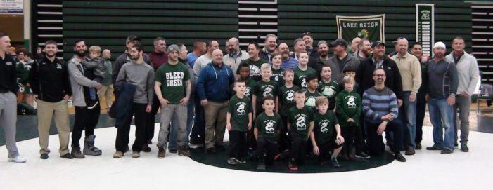 Dragon wrestling alumni celebrate 30th anniversary of state championship