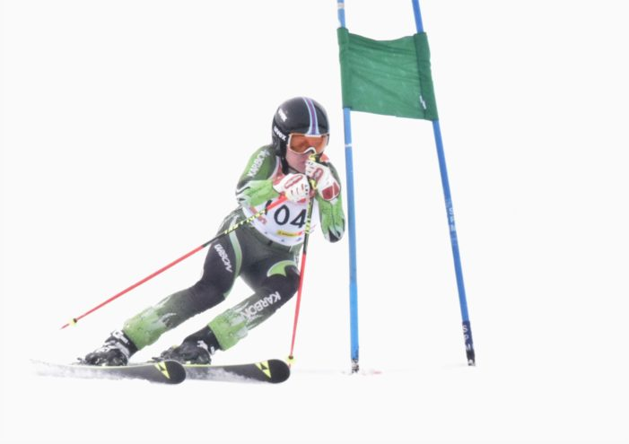 Skiers square off against some of the state's best at regional meet