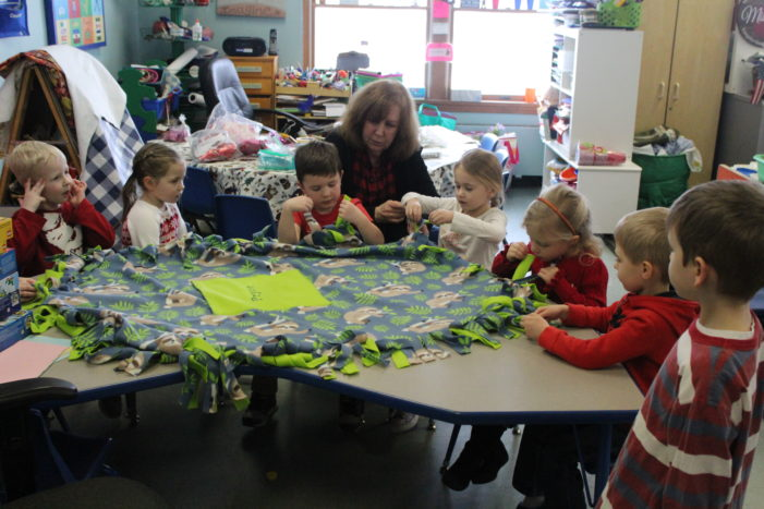Prayers for Pryce: Sunny Day kids give Pryce a blanket, toys for therapy sessions