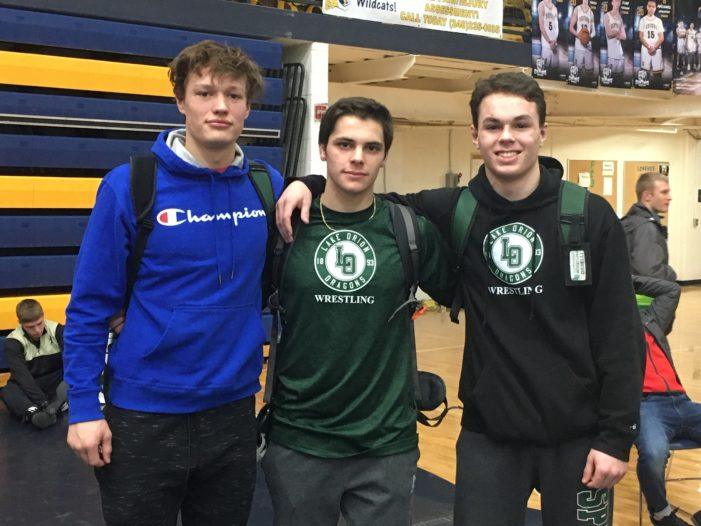 Three Lake Orion grapplers qualify for state championship