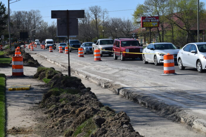 M-24 construction, re-surfacing underway in Orion, Oxford areas