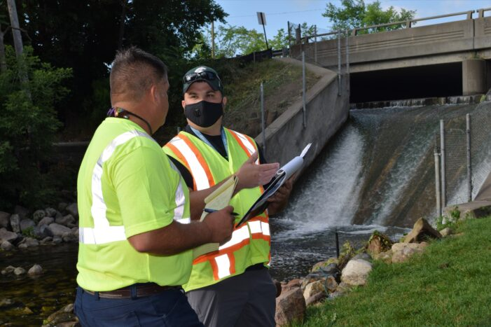 Paint Creek dam passes inspection, no major issues
