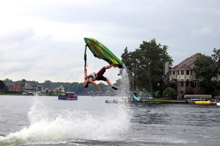 Lake Orion residents perform well in Brave the Wave jet ski event