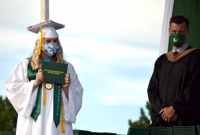 LOHS and Learning Options classes of 2020 hold in-person graduation ceremony on July 30