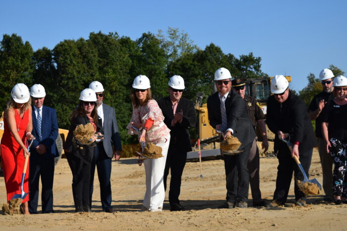 Orion Twp. officials, guests, break ground on new Municipal Complex