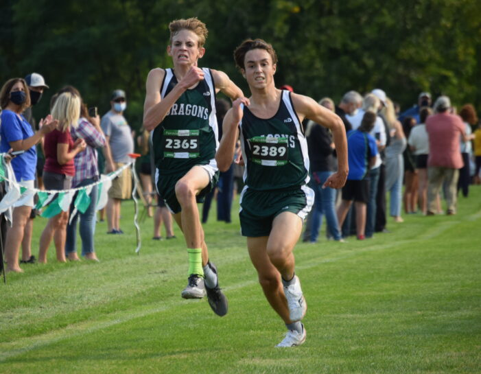 Boys cross country has good showing but loses to Adams