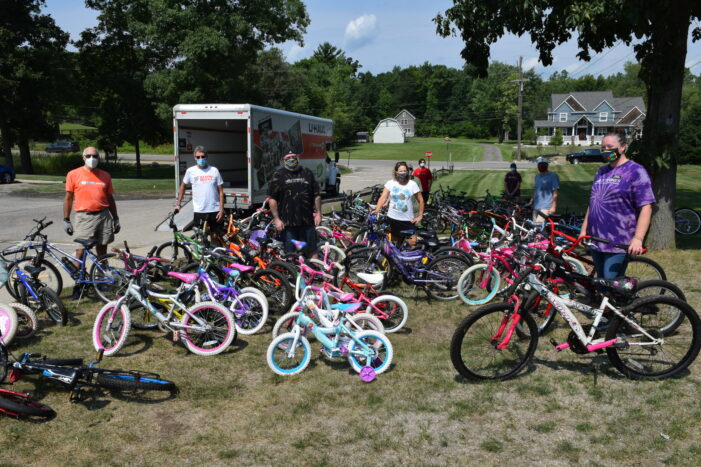 'Enjoy the Ride' kids: Holy Spokes donates 110 children's bicycles to Free Bikes 4 Kidz