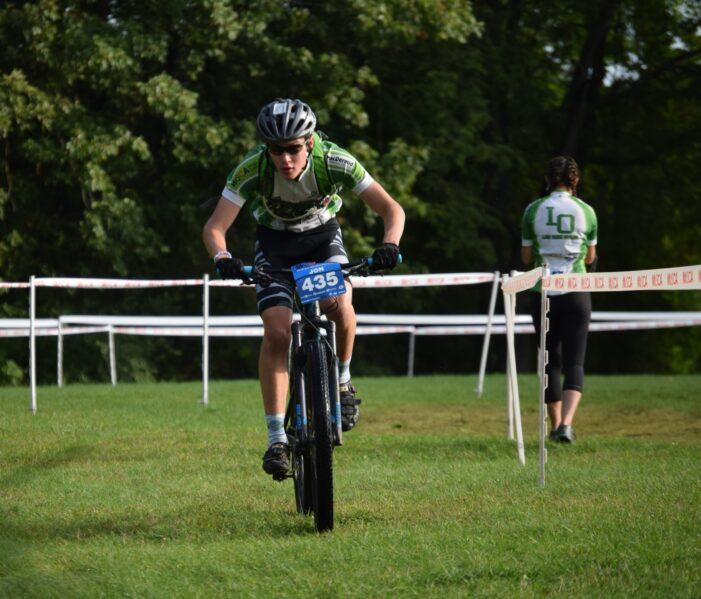 LOCS mountain biking team kicks off racing season with two top-four team finishes