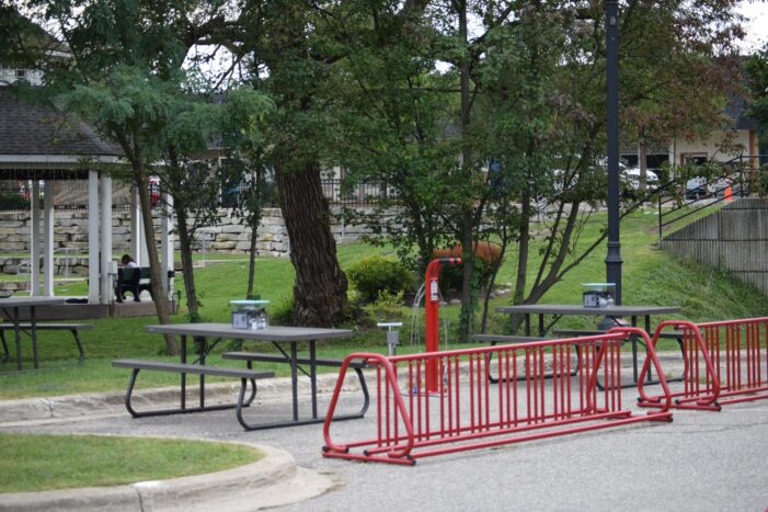 The great picnic table conundrum comes to an end; social district signage approved