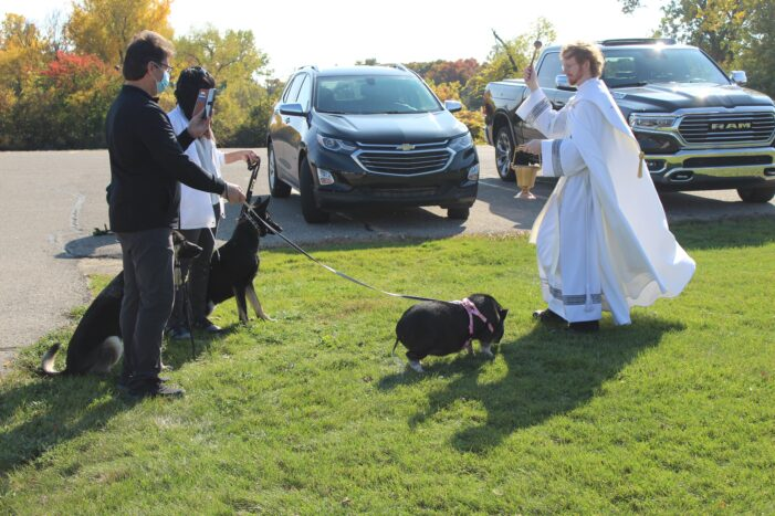 St. Joseph Catholic Church hosts annual Blessing of the Pets
