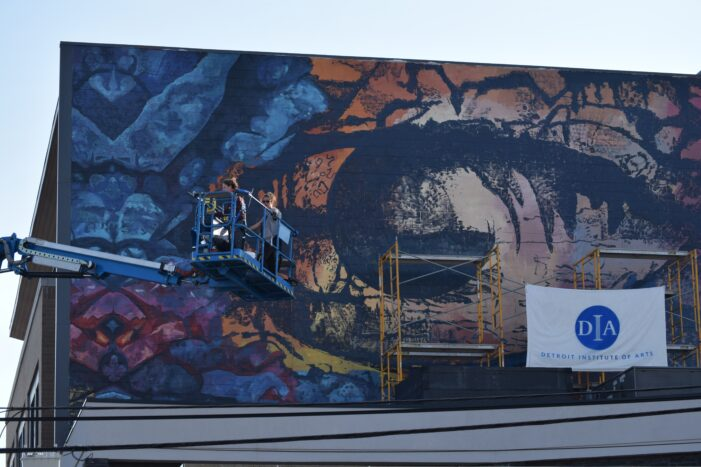 Downtown Lake Orion becomes home to permanent DIA mural