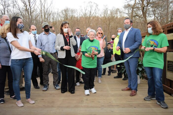 Orion community honors Van Tassel with Paint Creek bridge dedication