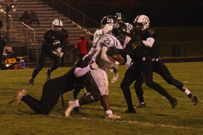 Bobcats Slay Dragons in First Round of Football Playoffs