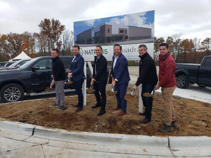 Natrabis breaks ground on $20 million marijuana facility in Orion Township