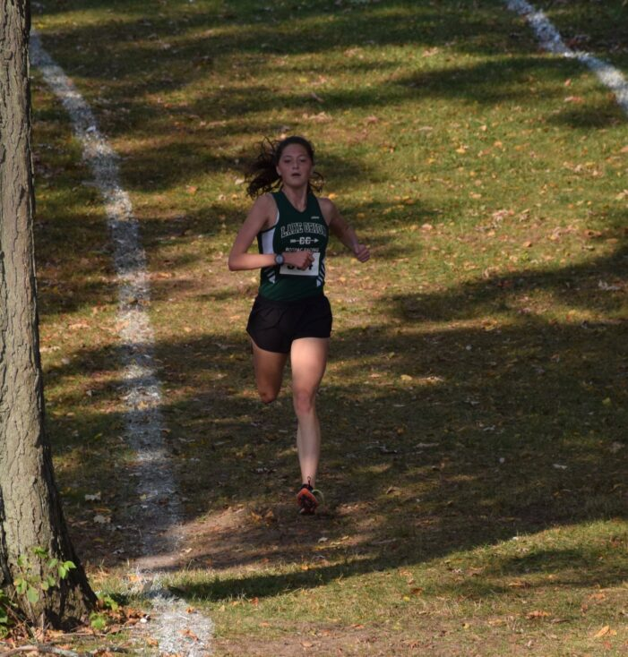LOHS Senior Sophie Novak competes in her 4th state finals