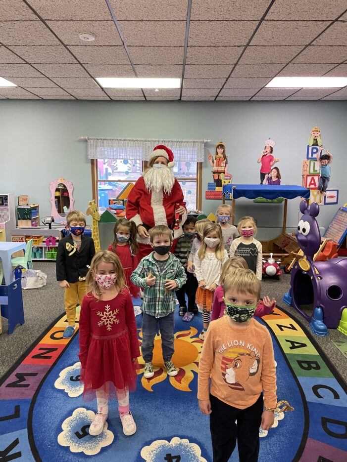 Sunny Day Preschool celebrates the holidays with safe, fun activities