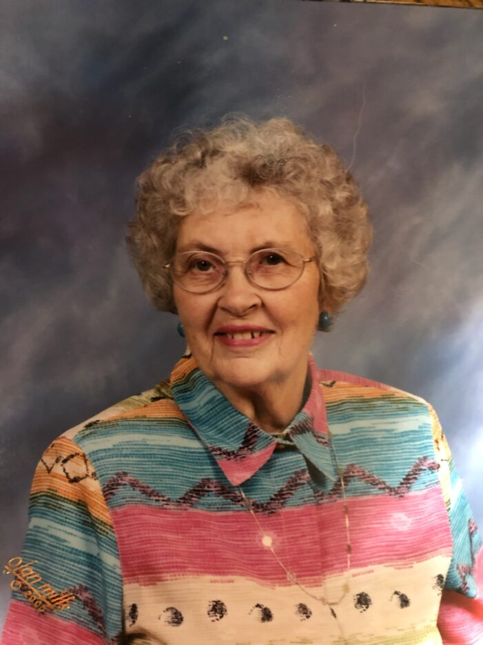 Cynthia Ann (Coe) Montgomery, 97, of Lake Orion