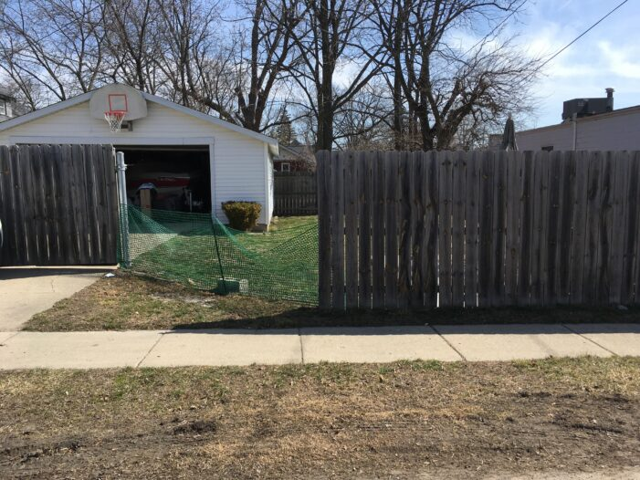 Driver has medical emergency, crashes through residential fence