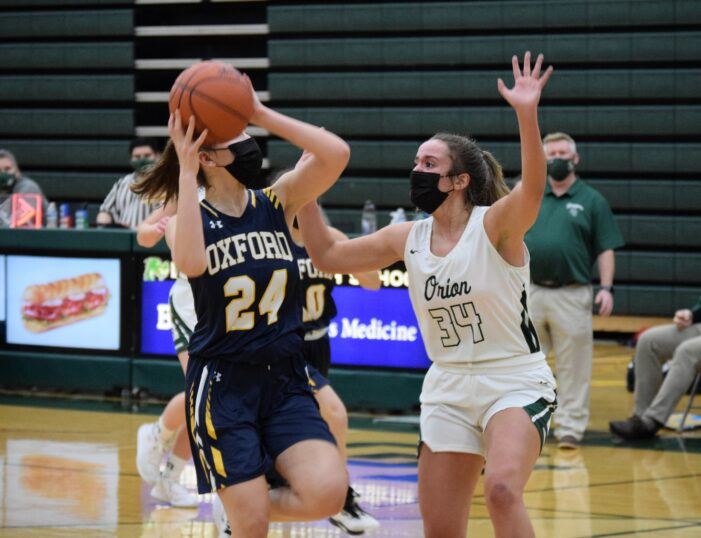 Lady Dragon cagers fall to Oxford Wildcats 51-39
