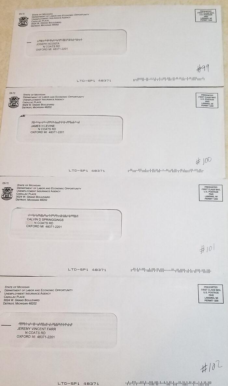 From ye ol' mailbox (es)