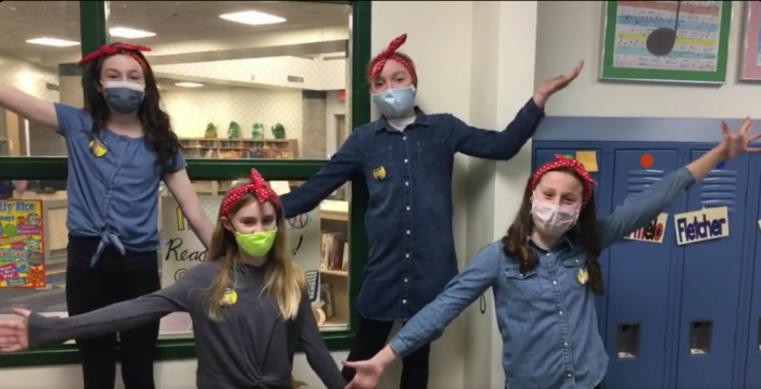 Golden Pages win 2021 5th grade Battle of the Books