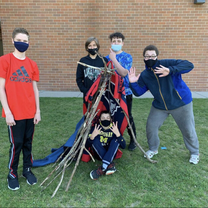 Waldon eighth graders celebrate Louis and Clark Day