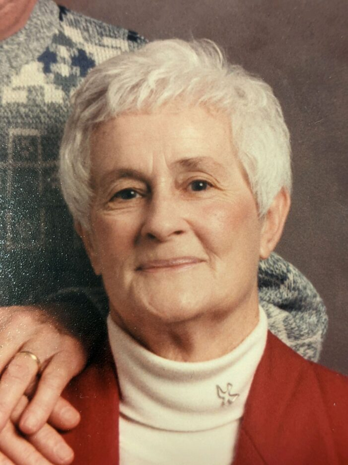 Johanna Grace Spry, 93, of Lake Orion