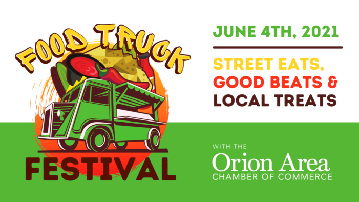 Orion Chamber to hold Food Truck Festival June 4