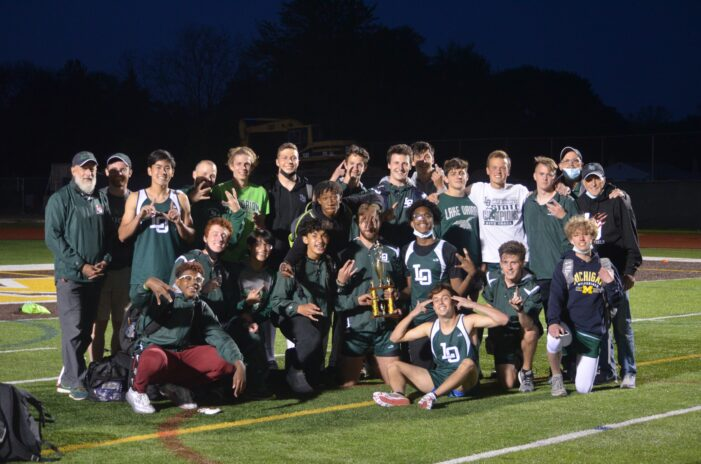 Lake Orion Track & Field compete in OAA Championship