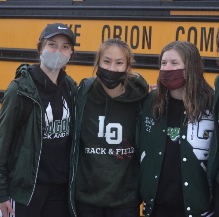 Lake Orion Track and Field defeats Rochester High School