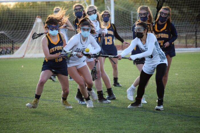 LO girls lacrosse will take on state-ranked Midland in a battle of undefeated teams