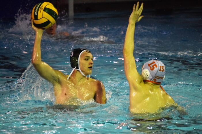 Dragon boys water polo team faces tough opposition but looks toward district matchup today, Friday