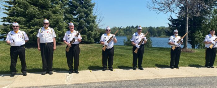 Post 334 Honor Guard salutes veterans during eight funeral services