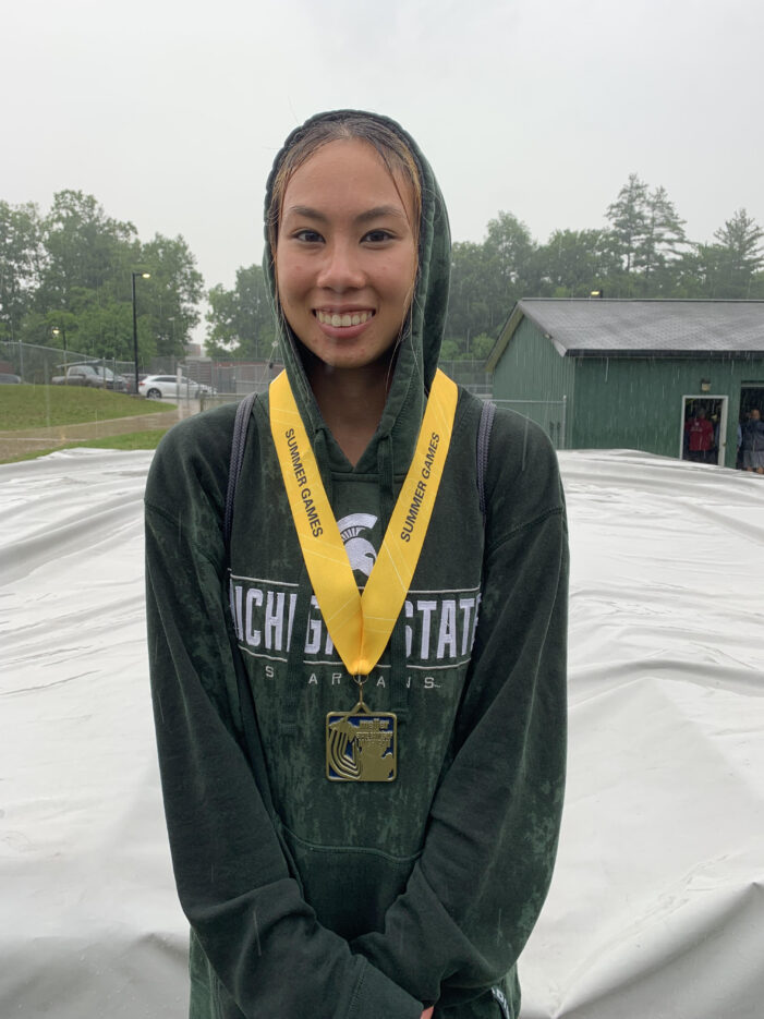 Lake Orion grad exceeds expectations for senior year track season
