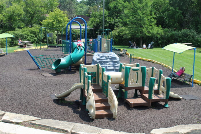 Village Parks & Rec. Committee presents possible playground upgrades