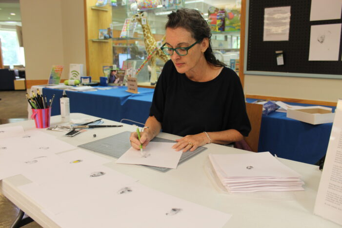 Local artist named Orion Library's Artist of the Month