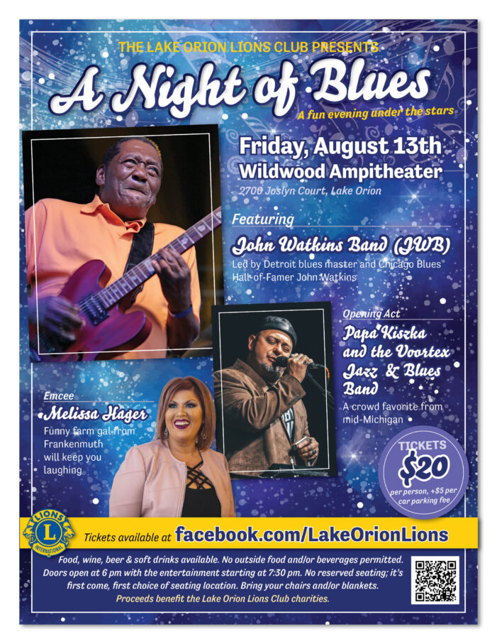 'A Night of Blues' concert benefits the Lions Club's programs