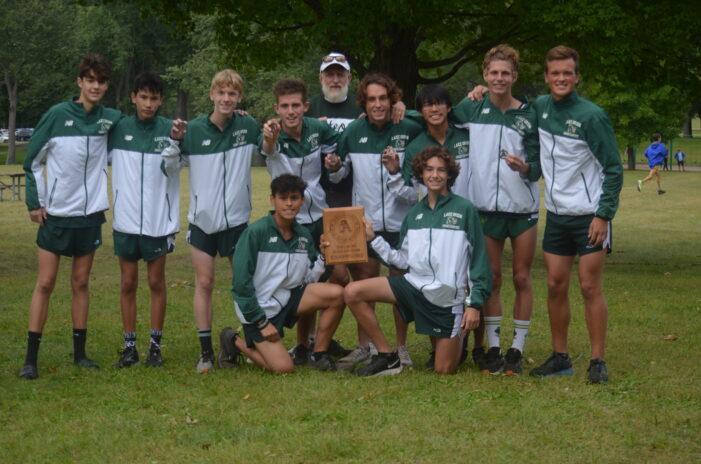 Lake Orion boys cross country team wins Averill Invitational