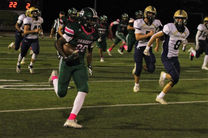 Dragons stop Cougars to end four game losing streak